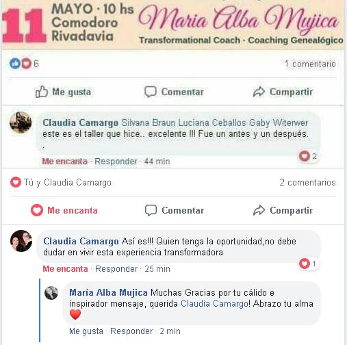 Claudia Camargo Comodoro Rivadavia Sanando Tu Niña Interior 1